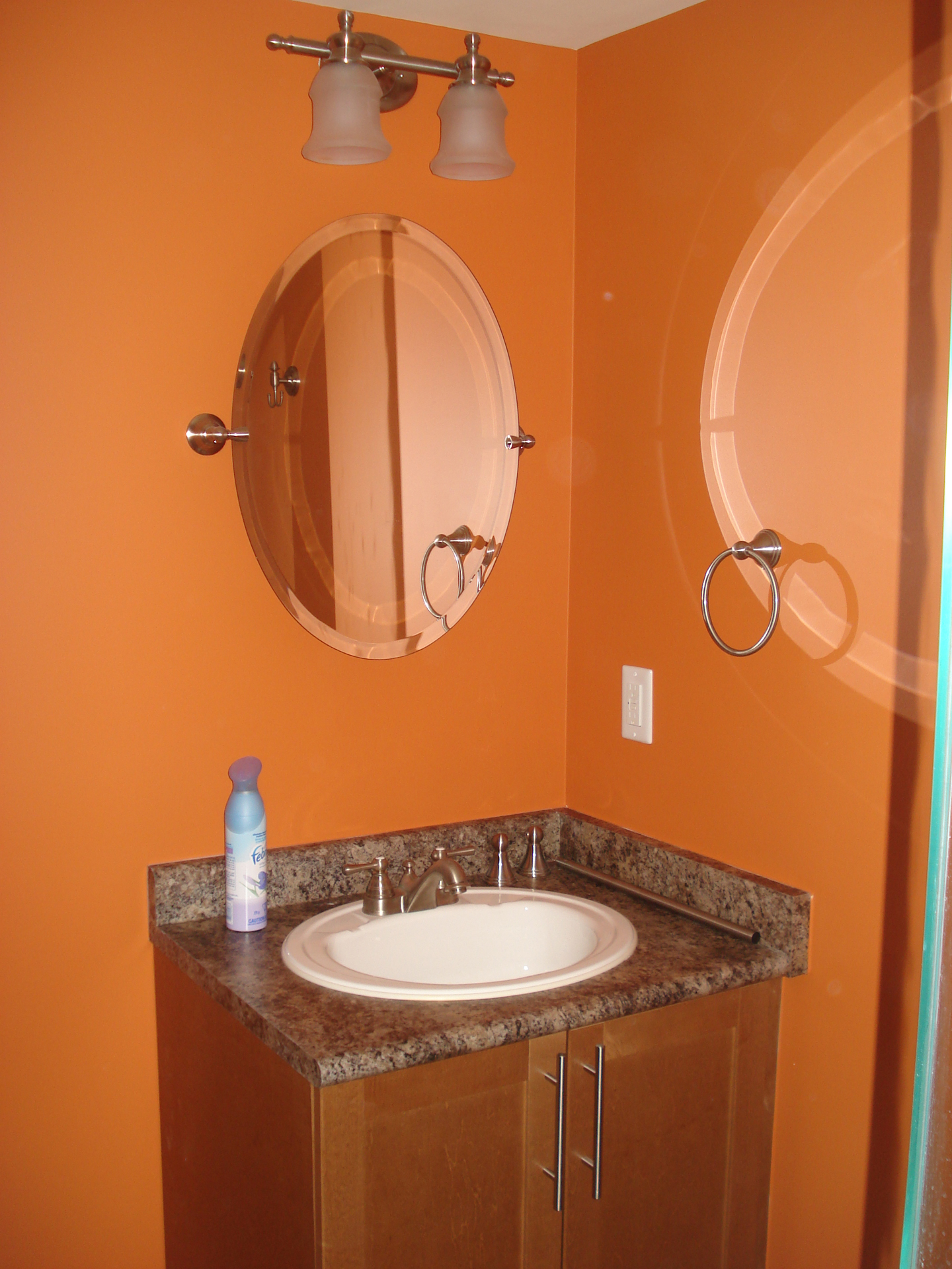 Orange Bathroom Paint Colors Orange Bathroom Paint