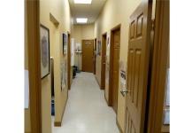 Dr office hallway