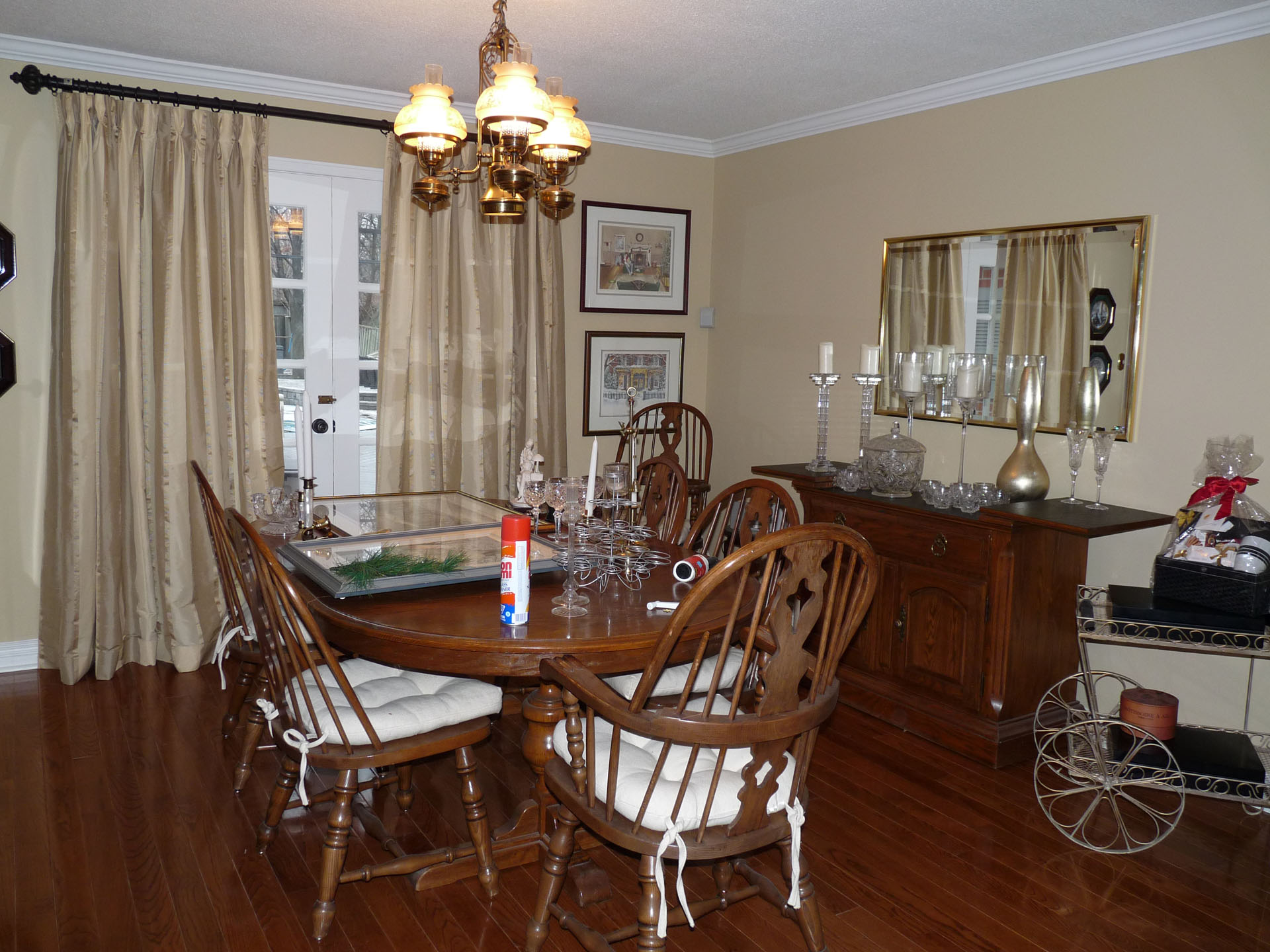 dining rooms impressions painting. Black Bedroom Furniture Sets. Home Design Ideas