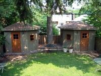 Exterior sheds