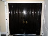Interior foyer doors