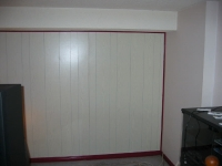 Panelling before