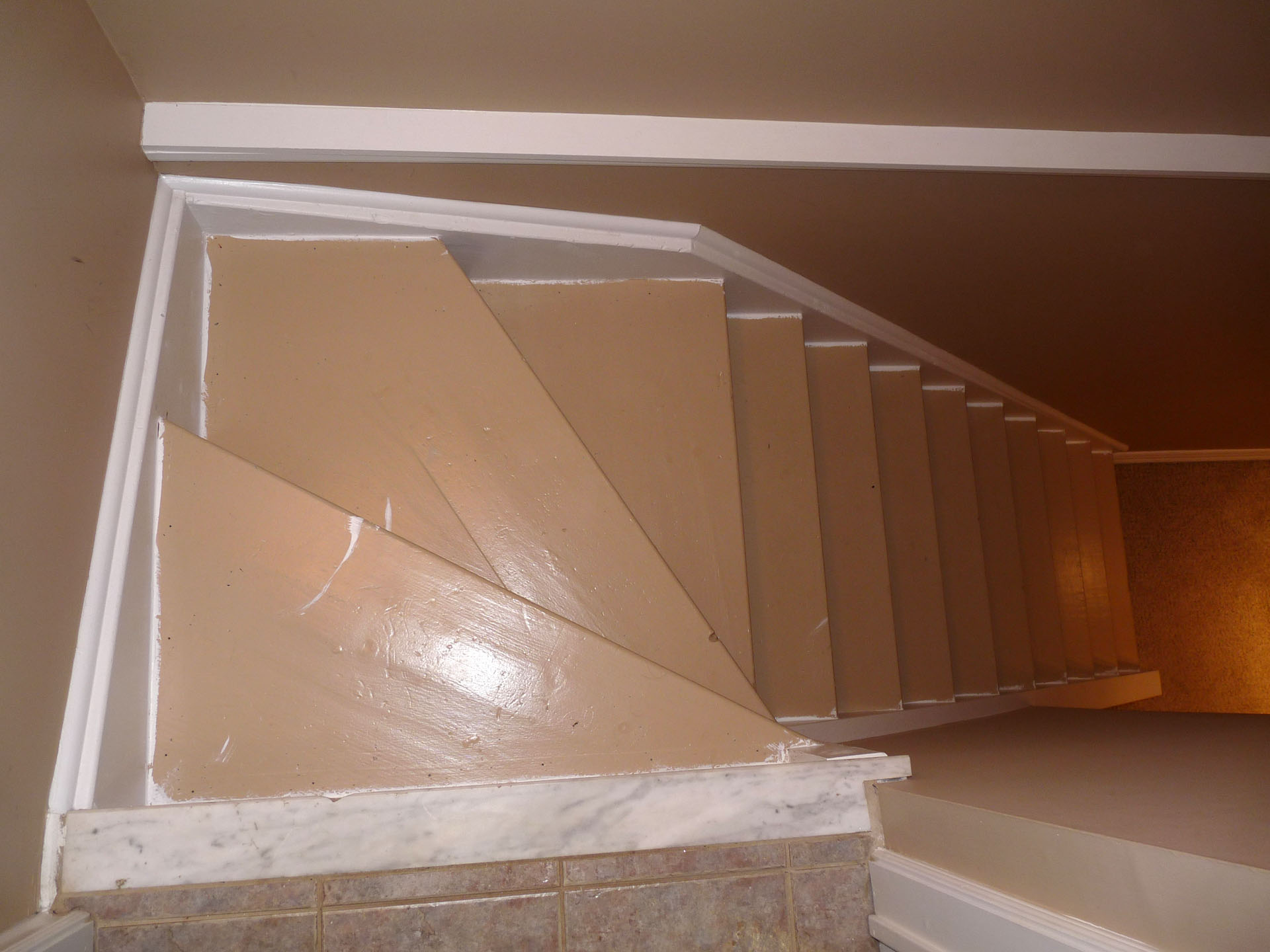 Refinished Stairs Impressions Painting